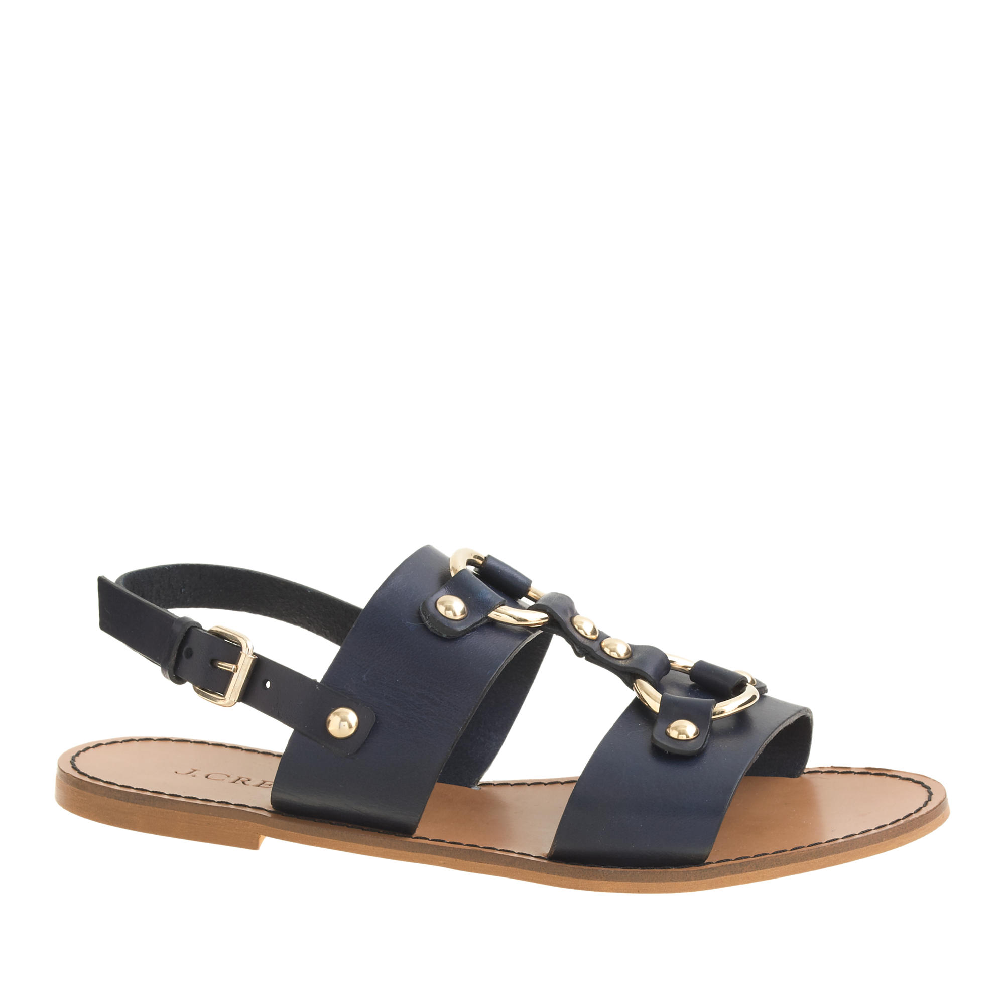 Equestrian slingback sandals j crew for J crew bedroom slippers