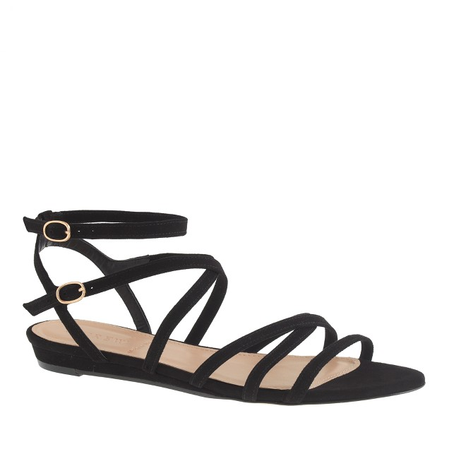 Emmaline mini-wedge sandals