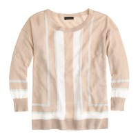 Collection featherweight cashmere vertical-stripe sweater
