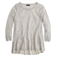 Collection featherweight cashmere high-low swing sweater