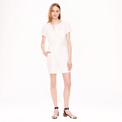 Collection cotton-linen jumpsuit