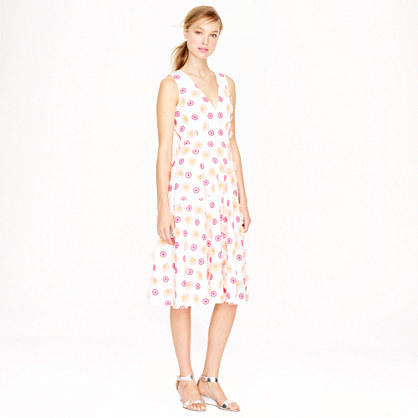 Collection embroidered flower dress