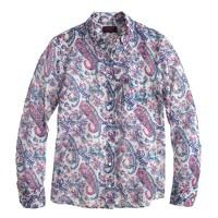 Boy shirt in Liberty Aaron paisley