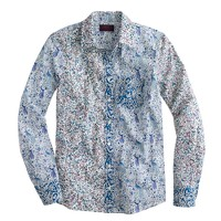 Boy shirt in Liberty mixed florals