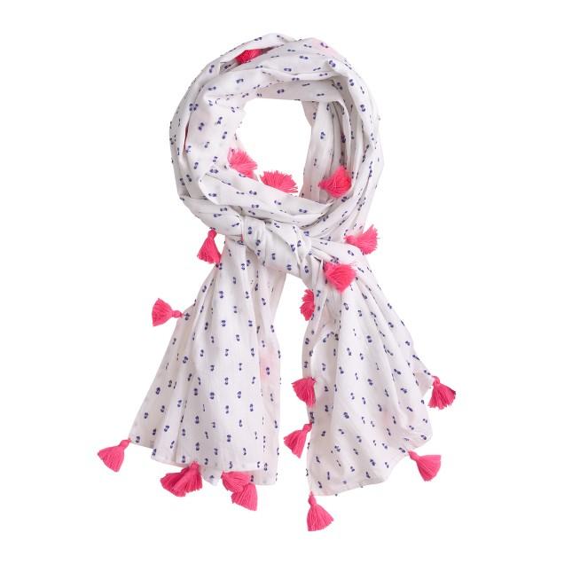Girls' Nellystella® swiss dot scarf