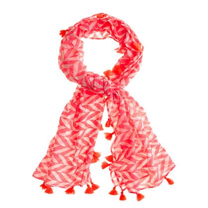 Girls' Nellystella® neon geo scarf