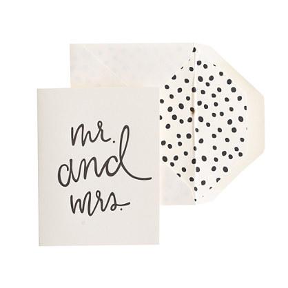 Sugar Paper® letterpress single cards