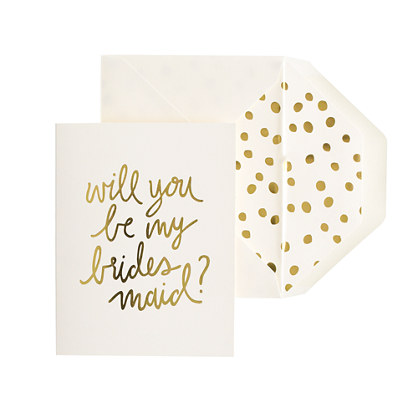 Sugar Paper® letterpress single cards