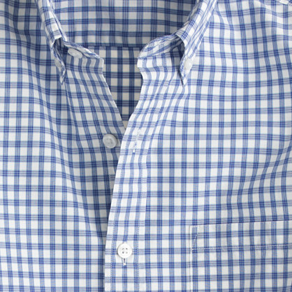 Secret Wash shirt in royal check