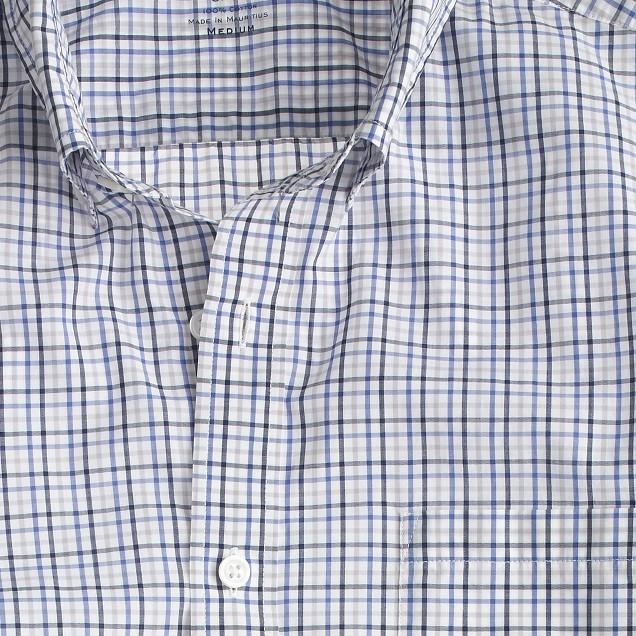 Secret Wash shirt in summer tattersall