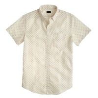 Short-sleeve shirt in dot