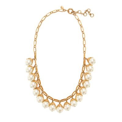 Pearl Jewellery Necklace >> Pearl drop necklace : | J.Crew