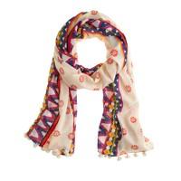 Pattern mix scarf