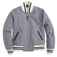 Golden Bear Sportswear® for J.Crew linen varsity jacket