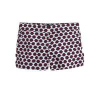 Scallop-pocket short in sunglass print