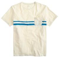 Pocket T-shirt in breaker stripe