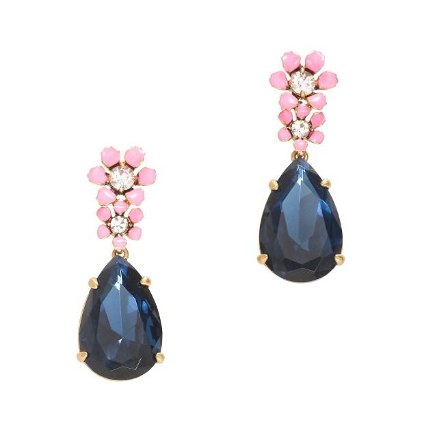 Tiny flowers earrings