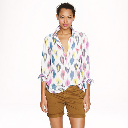 Popover in watercolor ikat