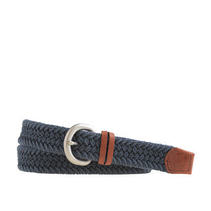 Woven nautical belt