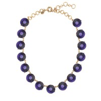 Faceted dots necklace