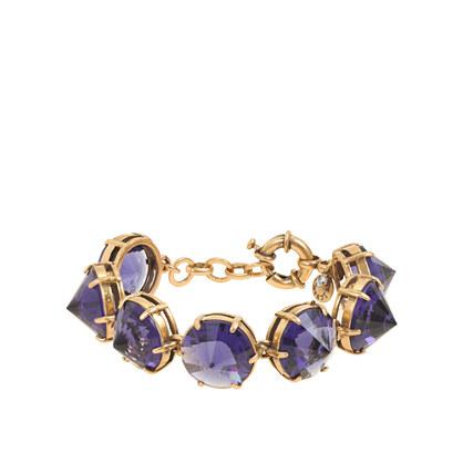 Pointed stone bracelet