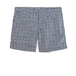 "6.5"" tab swim short in honeycomb"