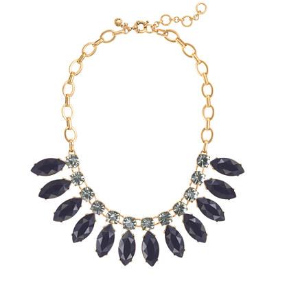 Large sunflower necklace