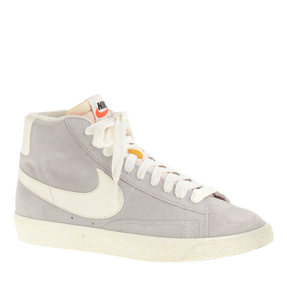 nike blazer high suede vintage sneakers sneakers j crew. Black Bedroom Furniture Sets. Home Design Ideas