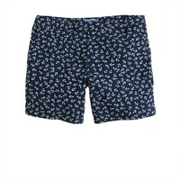 "6.5"" tab swim short in nautical anchors"