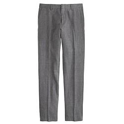 Ludlow suit pant in herringbone Italian cotton-silk