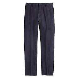 Ludlow suit pant in rope stripe Italian wool-linen