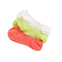 No-show socks three-pack