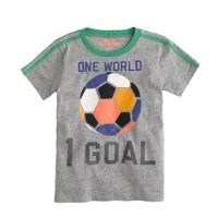 Boys' world soccer tee