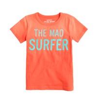 Boys' mad surfer tee
