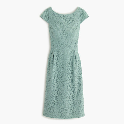 Elsa dress in Leavers lace