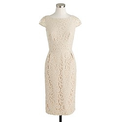 Petite Elsa dress in Leavers lace