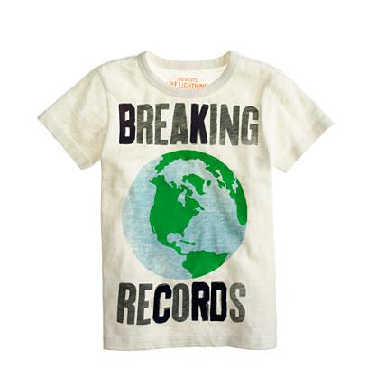 Boys' breaking world records tee