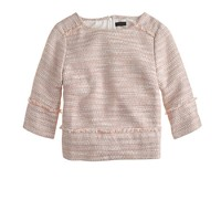 Collection peach tweed top