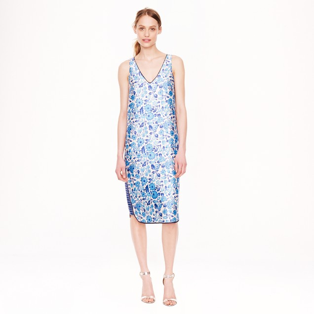 Collection shantung wildflower dress