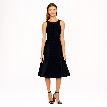 Collection eyelet organza dress