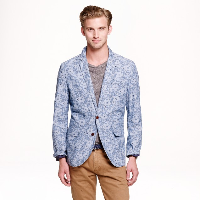 Ludlow sportcoat in Liberty print cotton