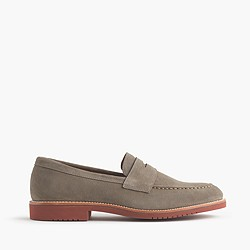 Kenton suede penny loafers