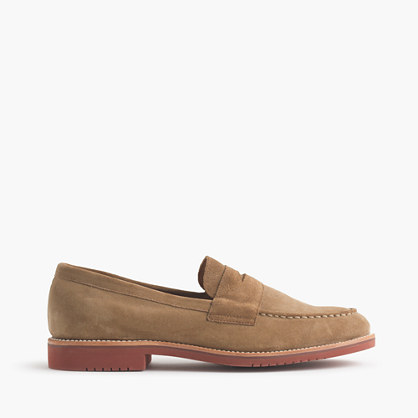 Kenton suede penny loafers