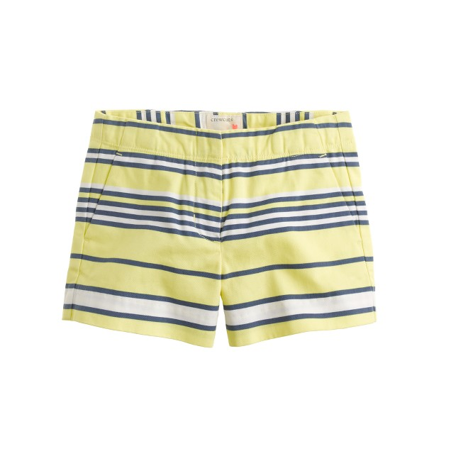 Girls' Frankie short in multistripe