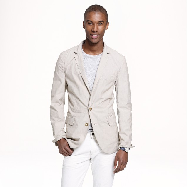 Ludlow sportcoat in lightweight corded cotton