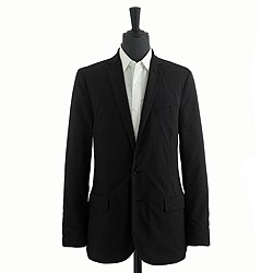 Ludlow sportcoat in lightweight glen plaid cotton