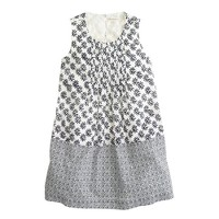 Girls' double woodblock dress