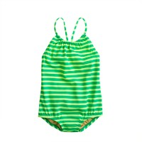 Girls' tank in thin stripe