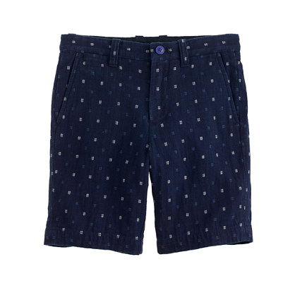 Boys' Stanton short in hashtag print