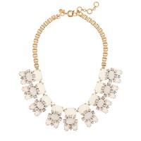 White stones necklace
